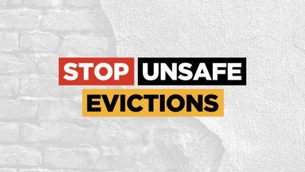 #StopUnsafeEvictions