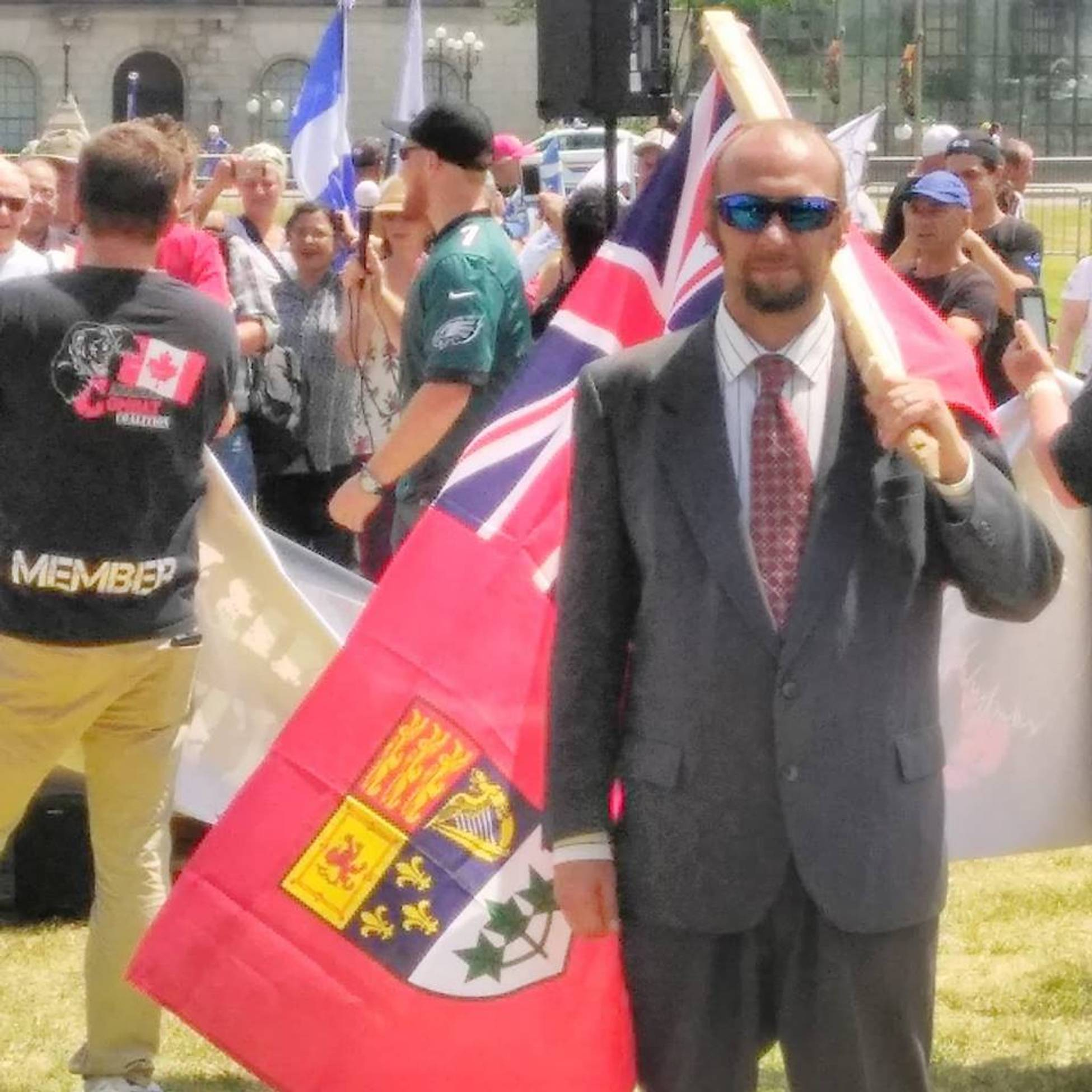 REPORT: Rally in Ottawa reveals conflict in the far-right movement