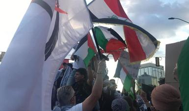 Watch Out For This Antisemitic COVID Conspiracy Group Trying To Attach Itself To The Pro-Palestinian Movement