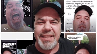 QAnon Follower and Musician Frank Dubé Is Using TikTok To Harass 2SLGBTQ+ and Black Youth