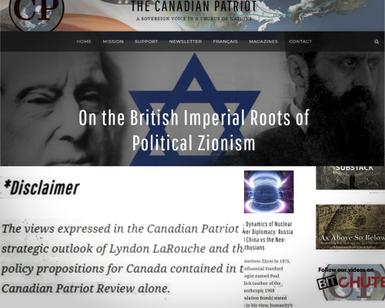 Canadian Global Politics Journal Home To Multiple Antisemitic Articles Masquerading As Academia