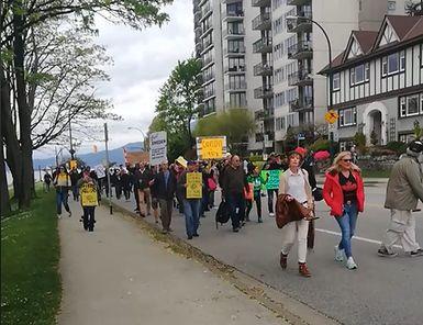 Canada's Far-Right Activists Are A Public Health Menace