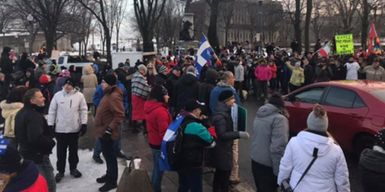 Political Party Spearheading Québec's Anti-Mask Movement Has Strong Ties To Hate Groups
