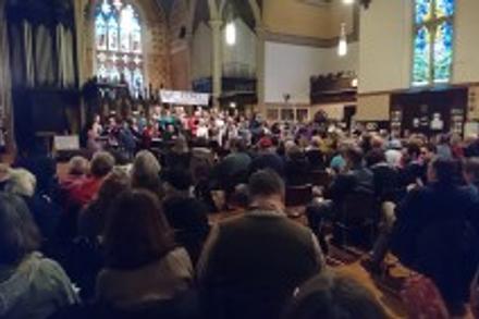 CONCERT REPORT   Echo Women's Choir, Making Noise