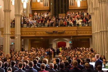 FEATURE   St. Mike's Springtime Messiah Sets Momentous Challenge
