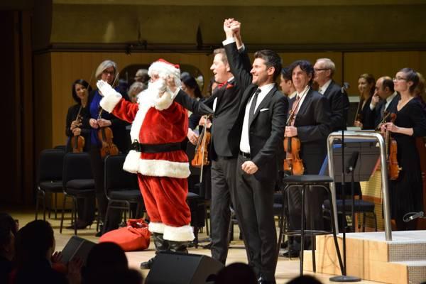 SCRUTINY   A Soaring Holiday Pops With The TSO And Matt Dusk
