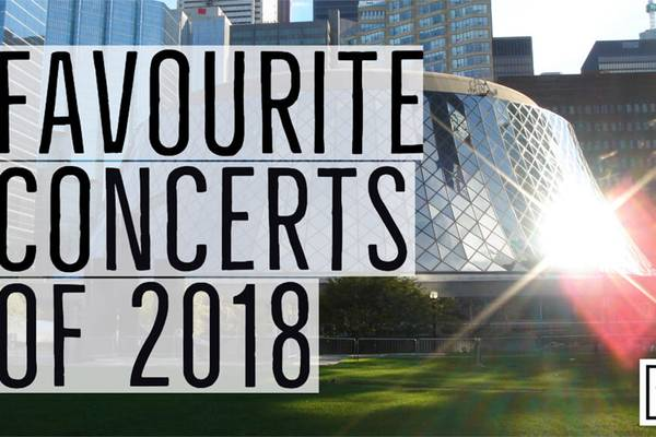 2018 REWIND   Our Favourite Concerts Of 2018