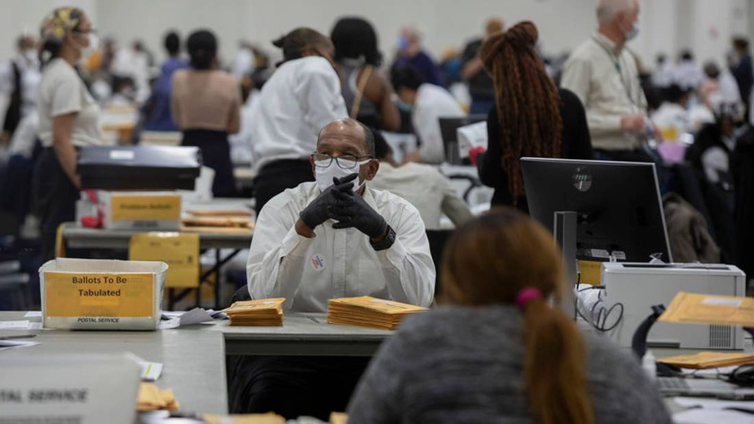 'We'll Be Working 24 Hours': Vote Counting To Continue Through The Week
