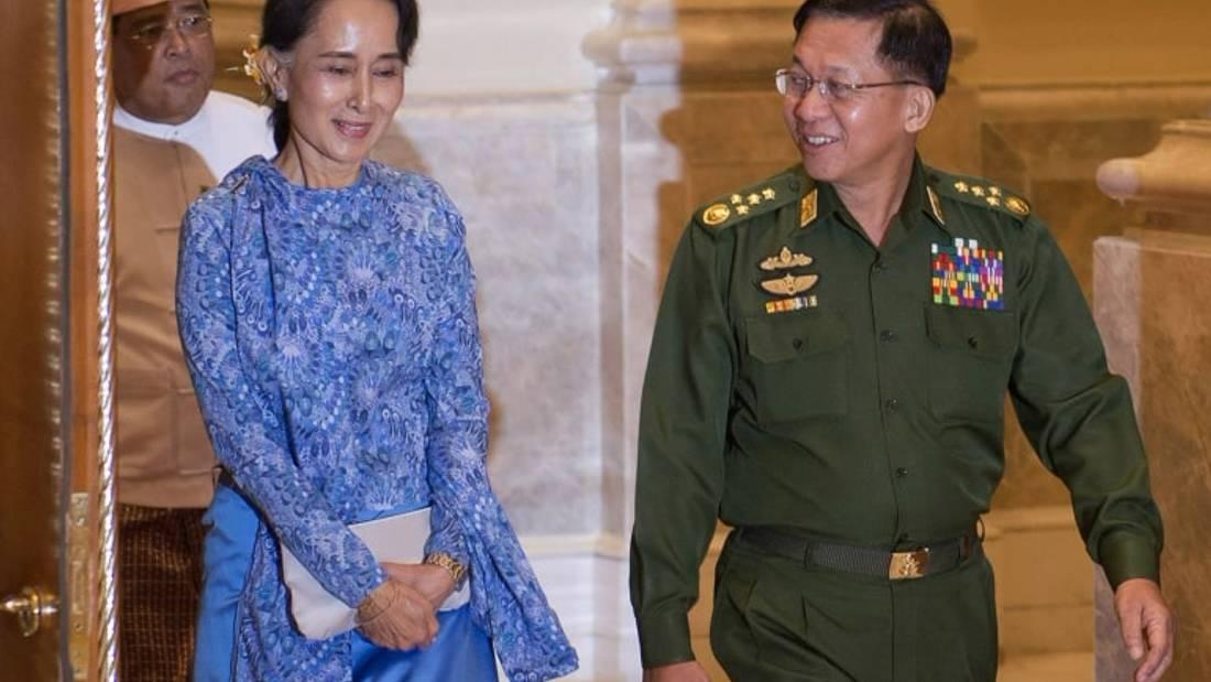 'Don't feel sorry for Suu Kyi': Rohingya refugees on Myanmar coup