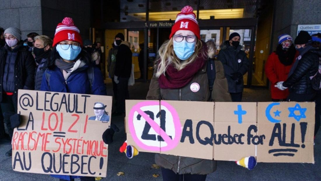 Court challenge to Quebec's secularism law, Bill 21, opens in Montreal