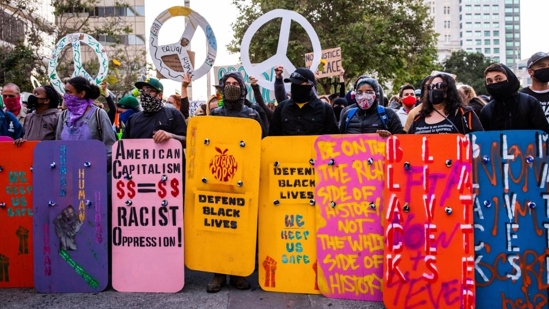 These Activists Are Building Shields to Prepare for Whatever Comes Next