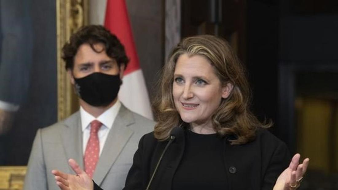 Freeland to face grilling over business aid as part of deal to fast-track bill