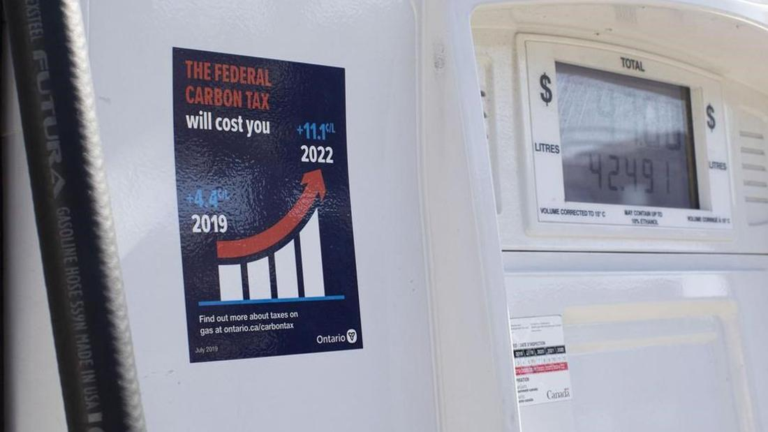 Ontario will abide by judge's ruling against carbon tax stickers, minister says