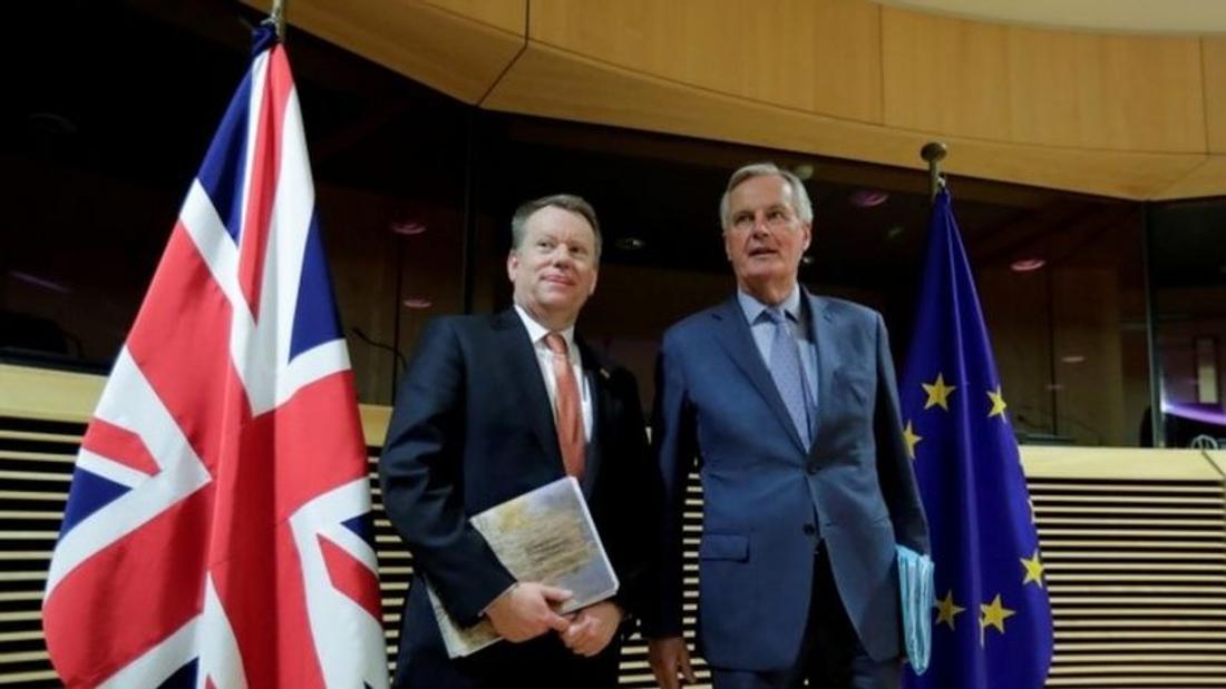 Brexit: EU and UK negotiators resume trade talks in London