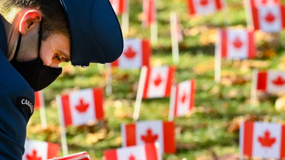 Scaled-down ceremonies mark Remembrance Day across Canada
