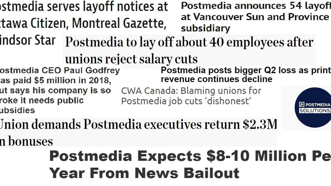 It's Time For A Postmedia Sunshine List