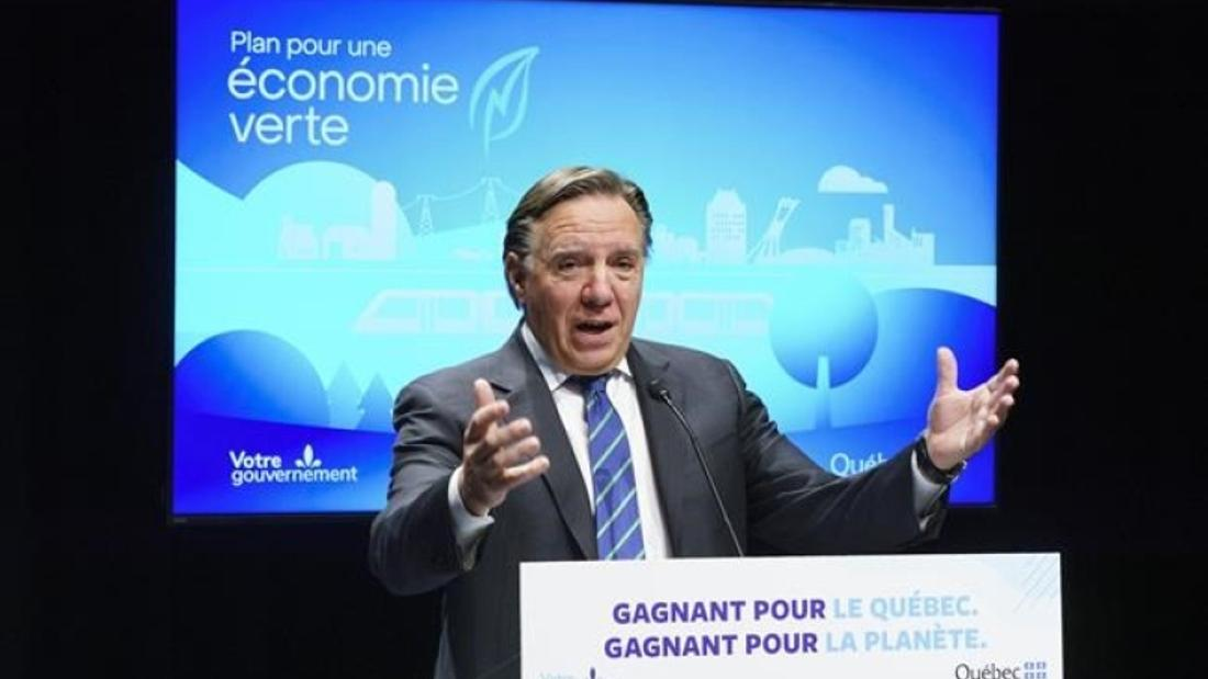 Quebec to ban sale of gas-powered cars by 2035 as part of $6.7-billion climate plan