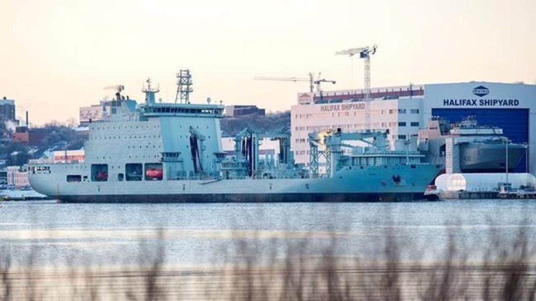 Navy could get converted Davie supply ships at fraction of price of building new: PBO
