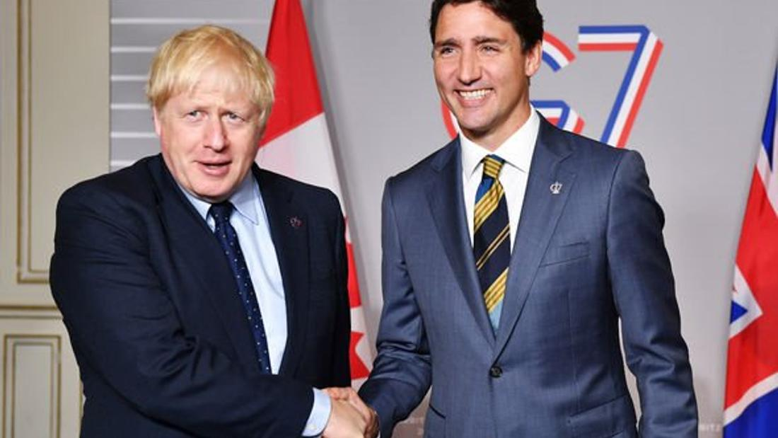 Canada, Britain strike new trade, beating Brexit, incorporating expiring EU pact