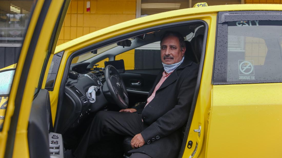 'Hope, Pray and Keep Clean': Driving Taxis in a Pandemic
