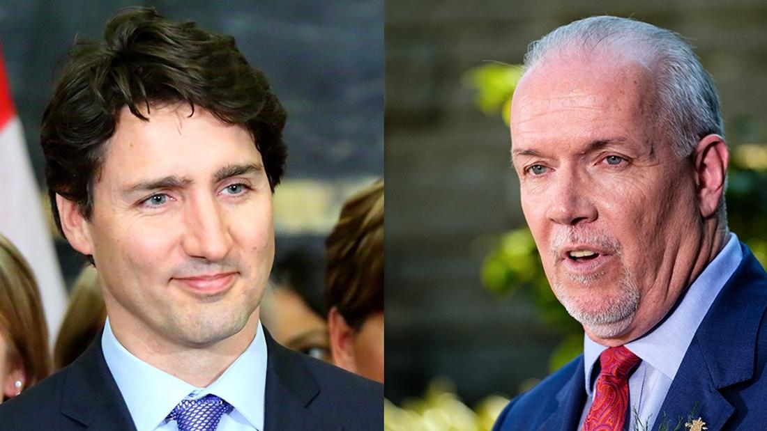 Premier Horgan says B.C. will plug holes in Trudeau sick-pay plan