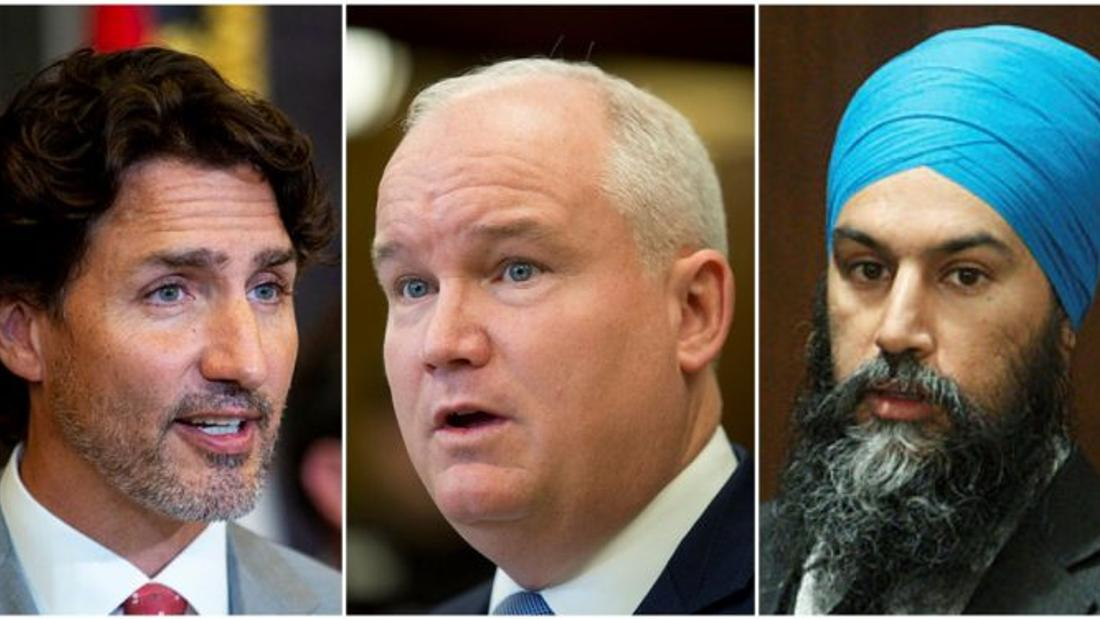 Singh's NDP hits new peak as support for O'Toole's Conservatives flounders, poll finds