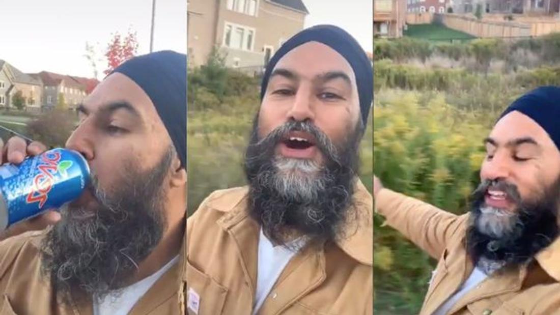 Jagmeet Singh Joins In On Viral 'Dreams' TikTok Craze