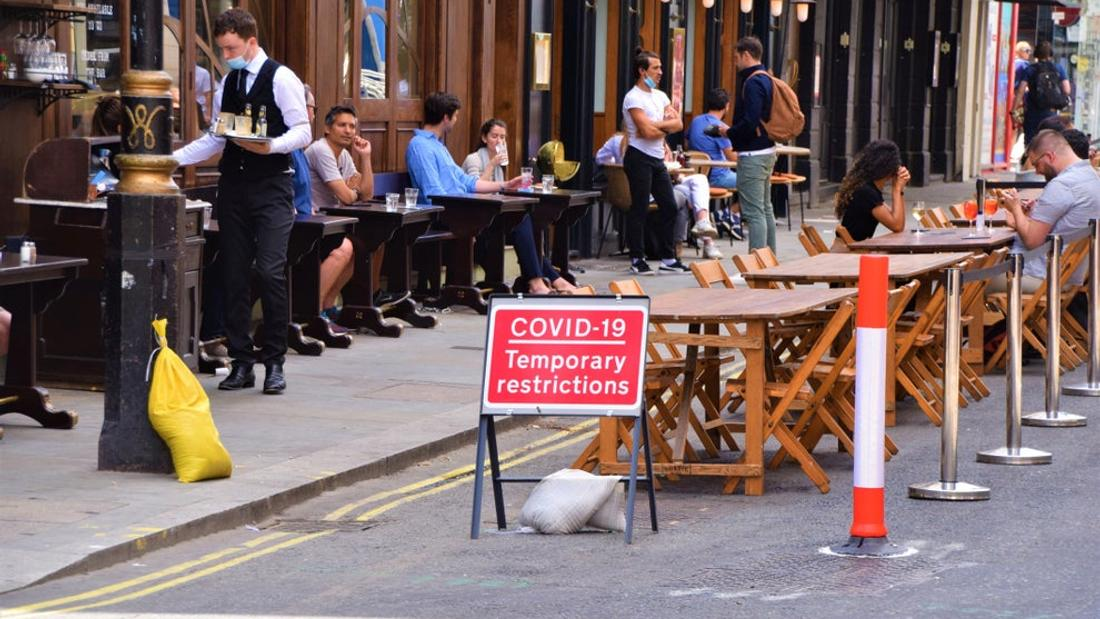 Pubs and restaurants could close again in parts of England from Monday