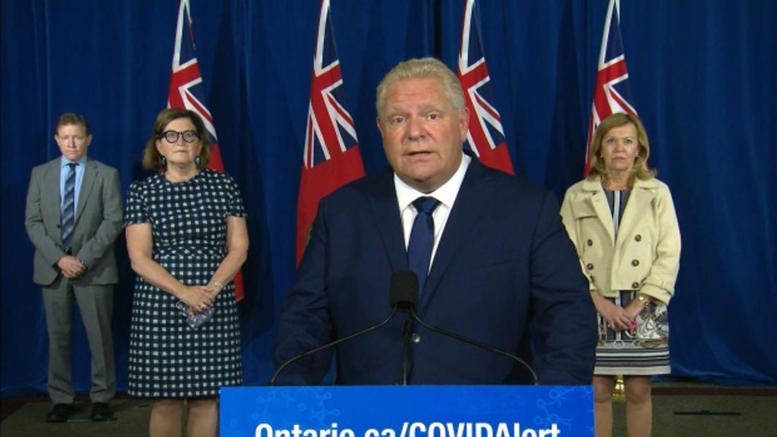 Premier Ford's cabinet meeting today to discuss more public health recommendations