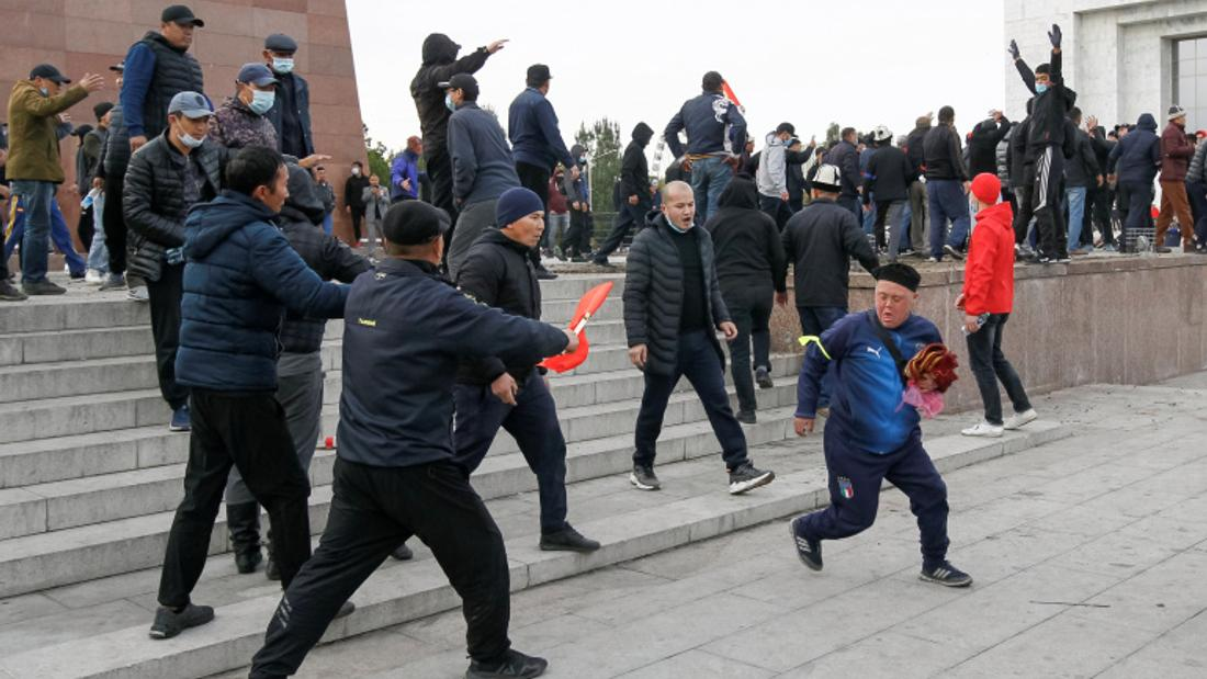 Kyrgyz president orders state of emergency in capital amid unrest
