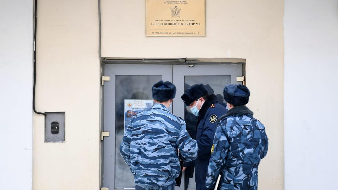 Alexei Navalny's new home: Moscow's most notorious prison