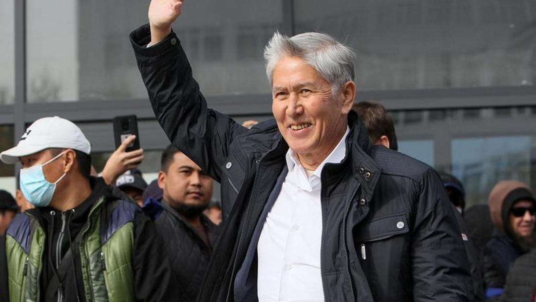 Kyrgyz security forces detain ex-president Atambayev: Ifax