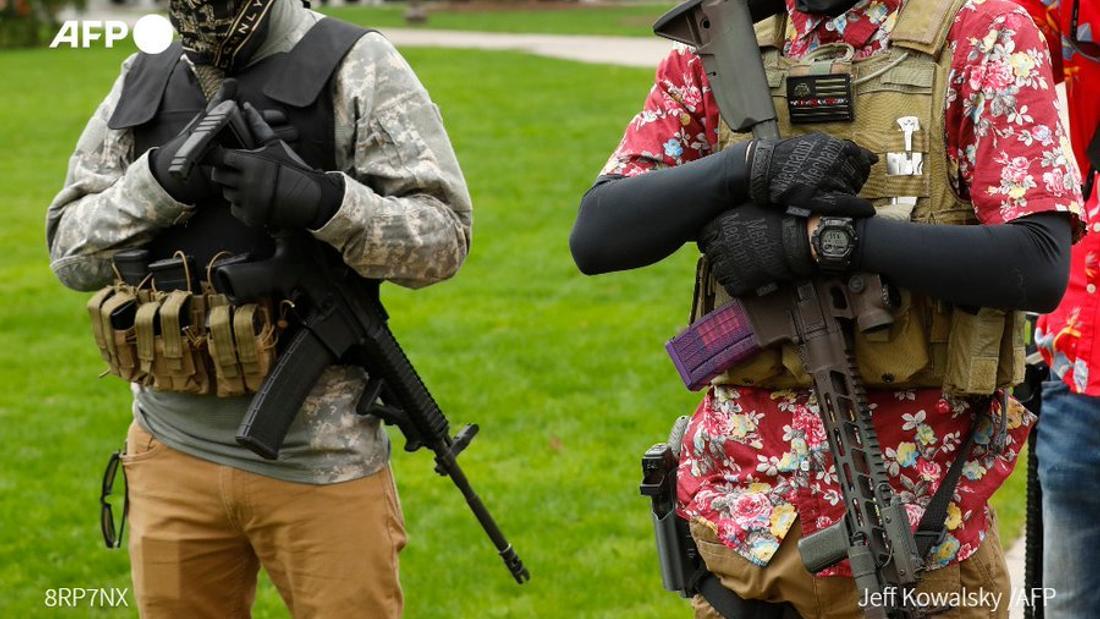 Michigan plot: US right-wing militias a growing threat