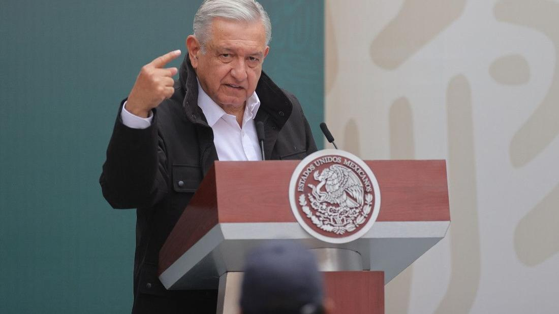 Mexico's president says he's tested positive for Covid