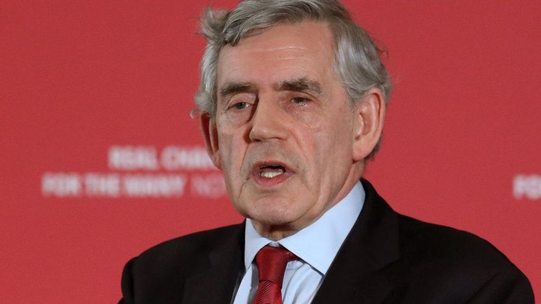 Gordon Brown: Trust has broken down in way UK is run