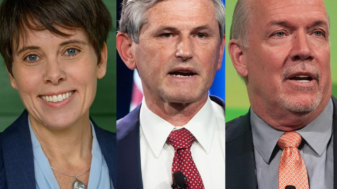 B.C. party leaders cope with pandemic, but miss the crowds on the campaign trail