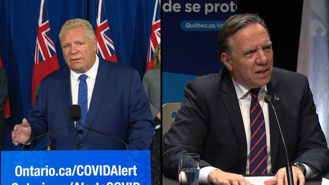 Delayed response now taking effect, though COVID-19 deaths still high in Ontario and Quebec