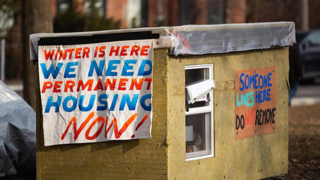 Tiny homes and tiny shelters are pop-up responses to government failures