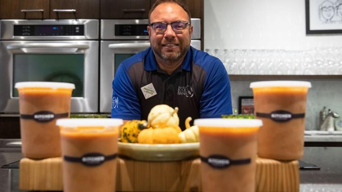 Food banks prepare for Thanksgiving as demand soars amid coronavirus pandemic