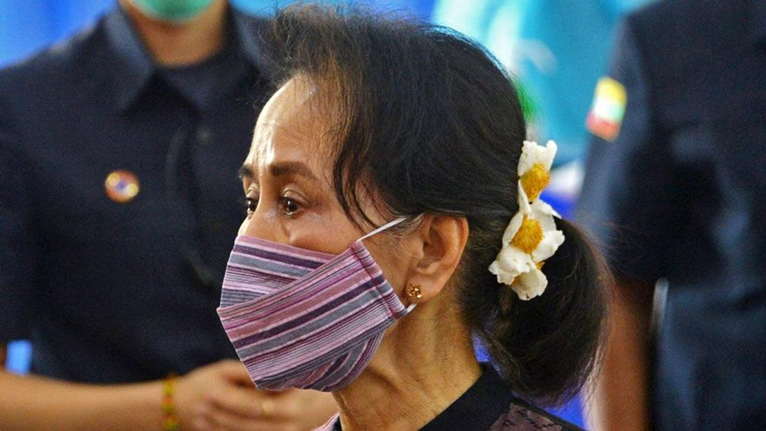 Myanmar coup: Calls for Aung San Suu Kyi release