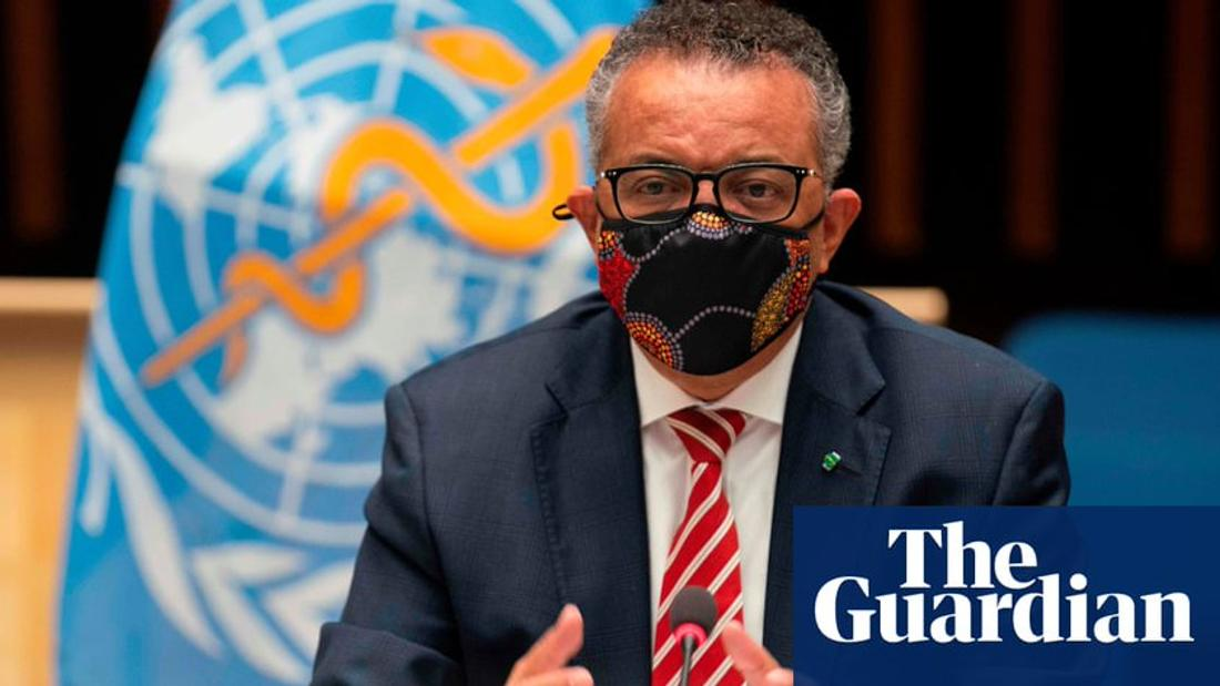 WHO chief says herd immunity approach to pandemic 'unethical'