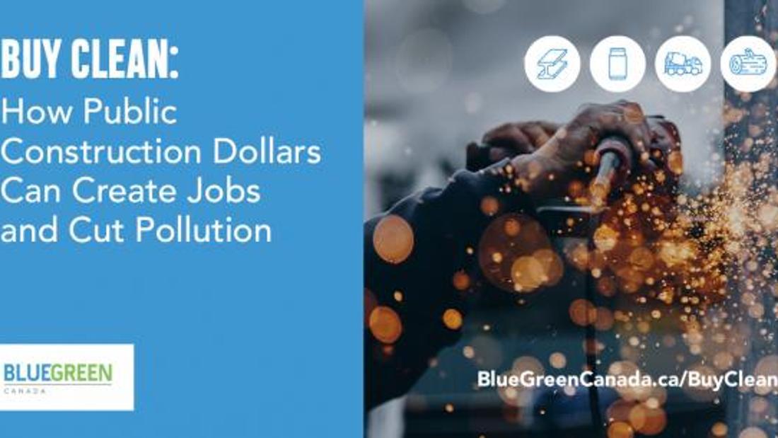 Buy Clean: Create Jobs & Cut Pollution