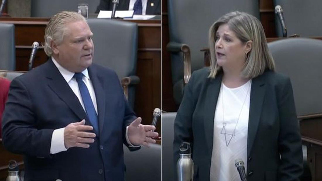 Doug Ford Called Sexist After Dismissing Criticism As 'Nails On A Chalkboard'