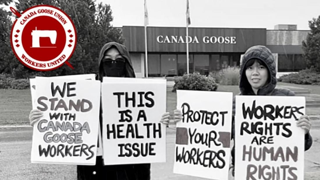 Canada Goose workers fight for fairness in Winnipeg