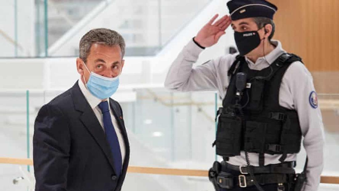 Former French president Nicolas Sarkozy sentenced to jail for corruption