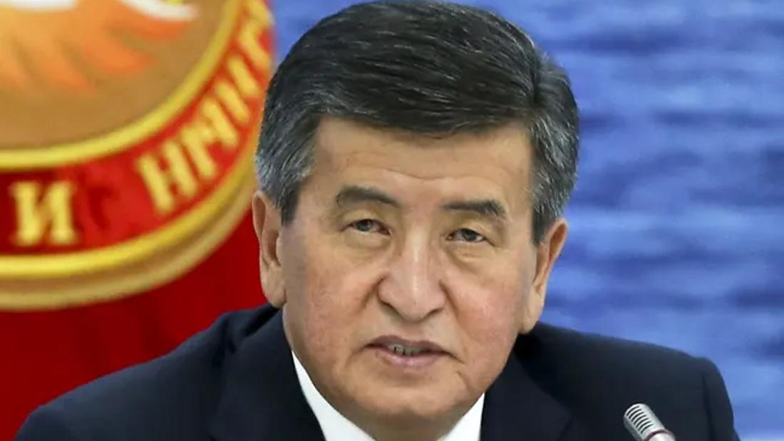 Kyrgyzstan's president steps down amid political unrest