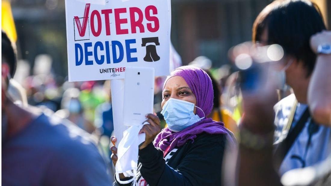 Voting rights: How the battle is unfolding across the US