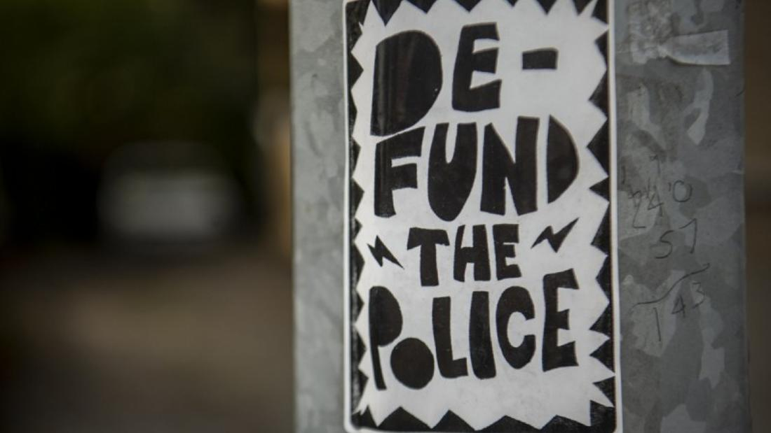 'Defund the police' means re-fund the community