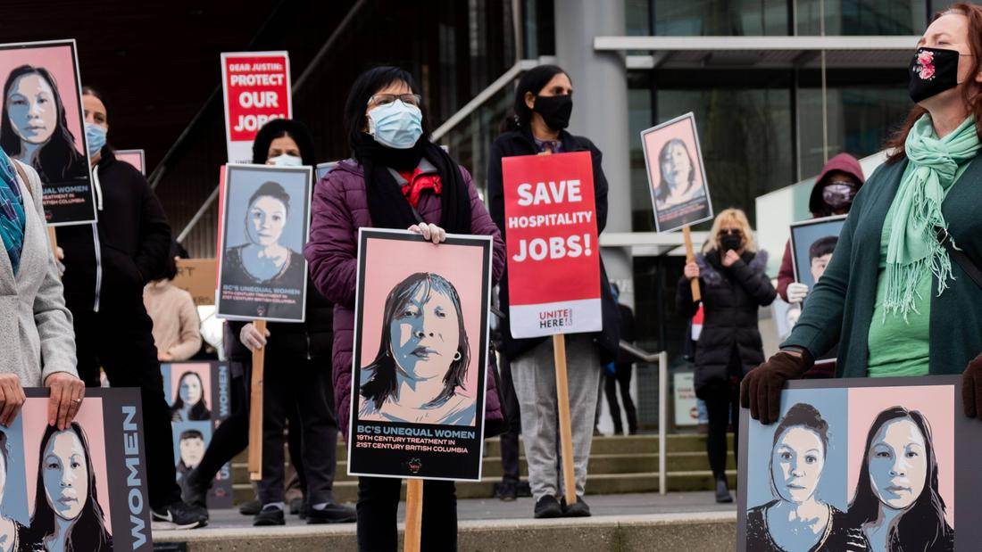 Women hotel workers fear replacement by minimum wage labour