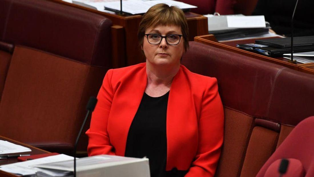 Linda Reynolds: Australian minister settles case after calling aide 'lying cow'
